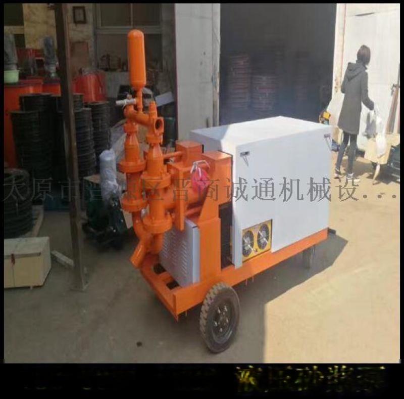 河南商丘市广东中山砂浆输送泵价位井巷液压砂浆泵
