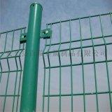 公路护栏网-绿色双边丝护栏-圈地双边丝护栏