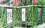 宜宾实木栏杆厂家,公园栏杆河道护栏定制厂家