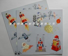 静电膜标贴,玻璃贴纸,玩具贴纸