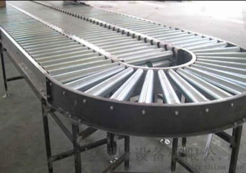 雙層動力滾筒輸送線廠家直銷 線和轉彎滾筒線