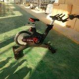 风阻健身单车_动感黑色健身自行车