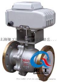 ZAJQ電動調節球閥 電動調節閥. 上海渠工管道閥門