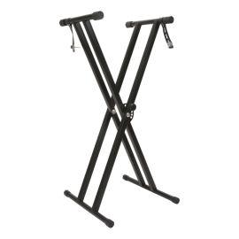 电子琴架X型古筝扬琴架双管数码钢琴支架升降金属