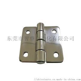 304不锈钢抛光铰链 4孔61*58工业镜面合页