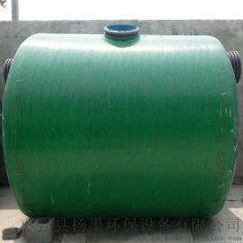 玻璃钢一体化污水处理设备玻璃钢化粪池隔油池环保