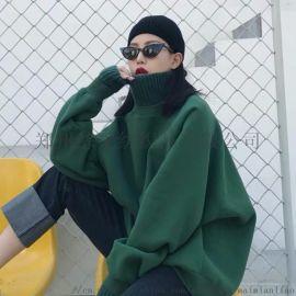 卫衣女新款秋冬加厚加绒韩版连帽外套