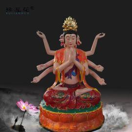 斗姆元君神像道教斗姆娘娘佛像准提菩萨雕塑生产制作