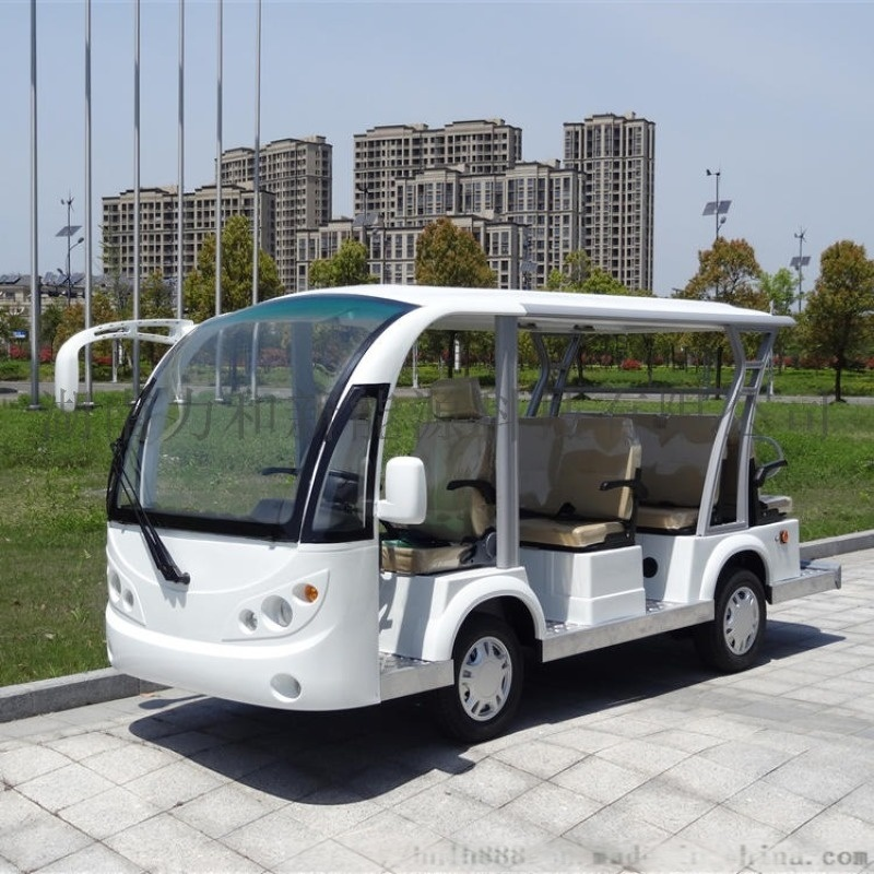湖南力和电动观光车报价 游览观光车供应商 电瓶车接待车
