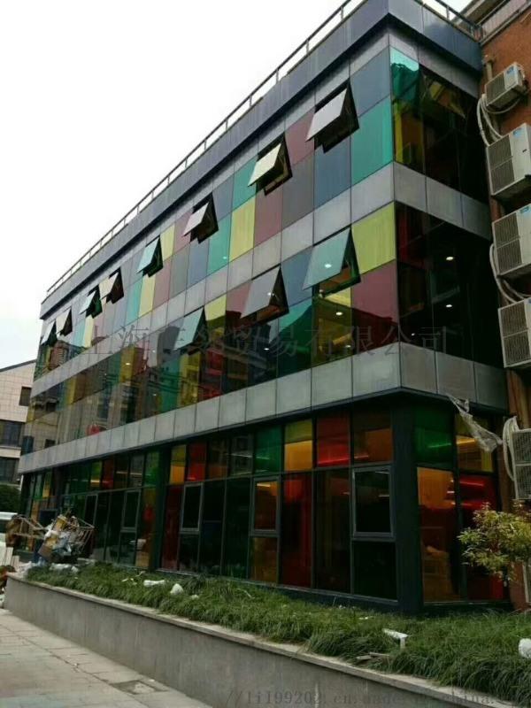 建築玻璃太陽膜施工安裝防曬隔離紫外線玻璃膜