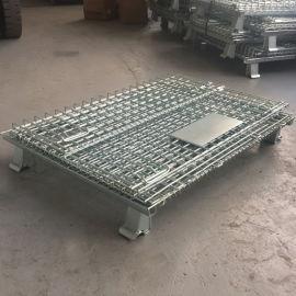常规仓储笼 标准铁笼镀锌仓库笼