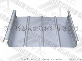 供应毕节铝镁锰板直立锁边屋面系统65-400厂家