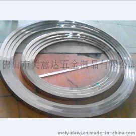 不锈钢线槽 不锈钢包边线条 异形不锈钢线条加工