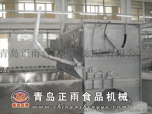青島正雨供應生豬屠宰設備200型液壓打毛機
