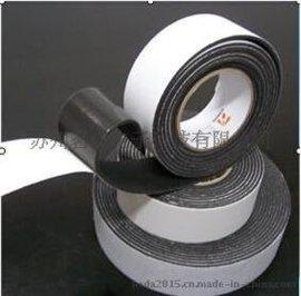茗超直销黑色泡棉单面胶带 单面黑色泡棉胶带