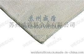 夹钢丝硅胶玻璃纤维布,钢丝增强红色硅胶布,红色硅胶钢丝布