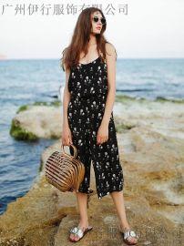 拉夏貝爾品牌折扣連衣裙拉夏貝爾夏裝庫存供應