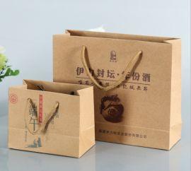 定制礼品袋化妆品纸袋牛皮纸袋皮具纸袋纸品包装袋