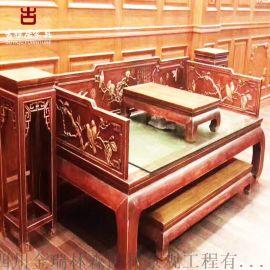 四川哪兒有仿古家具廠家,新中式家具定制