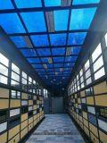 上海玻璃貼膜效果圖 上海辦公室漸變膜 創意貼膜定製