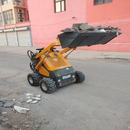 四川室内小铲车小型工地装载机转弯轻松自如