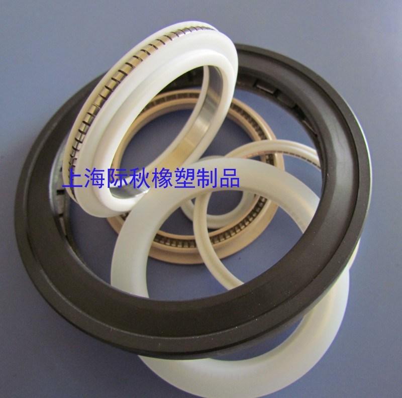 法兰内外端面弹簧蓄能密封圈 耐高温腐蚀V型 O型弹簧泛塞封