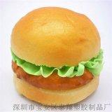 麦当劳同款泰翔pu高仿真汉堡 假面包模型玩具点心