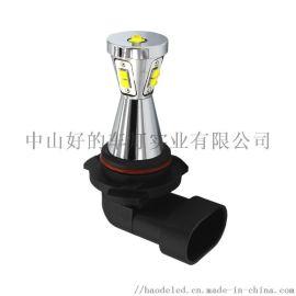 汽车LED雾灯9005锥形设计45W