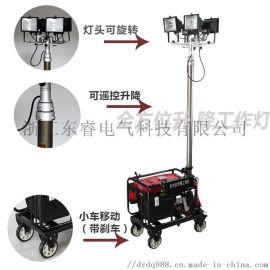 4*500W全方位升降泛光工作灯本田发电机