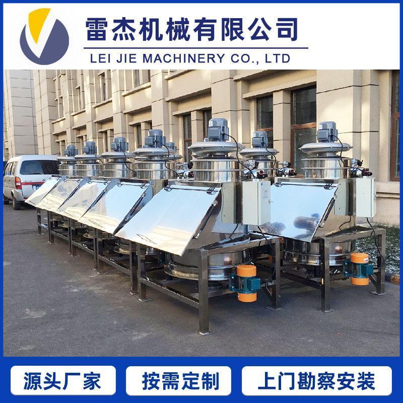 粉体计量称重 PVC粉输送计量配料系统, 自动拆包机