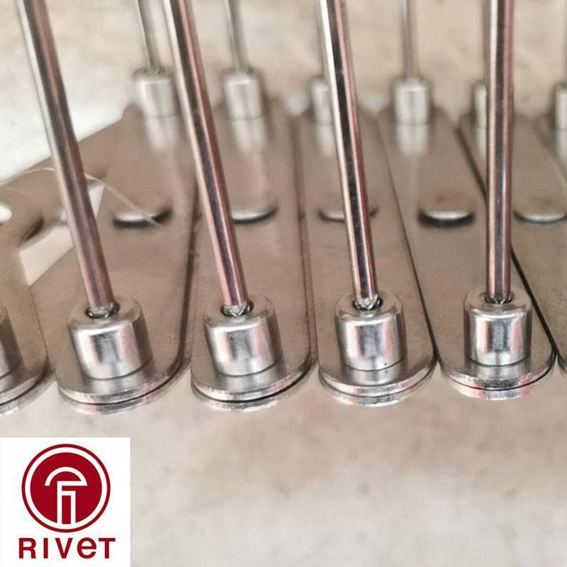 羅維特多款供選結構型鉚釘廠家批發不鏽鋼防鳥刺驅鳥刺鐵塔鳥刺