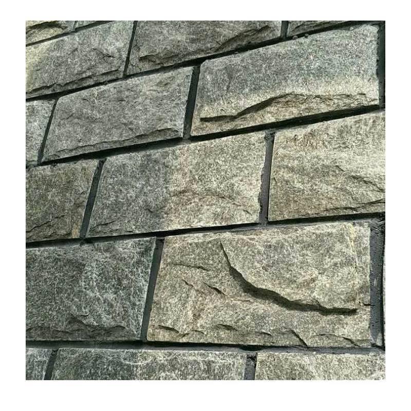 廠家直銷綠色外牆磚/綠色文化磚/綠色劈開磚/別墅外牆文化石