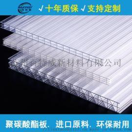 厂家**PC阳光板 中空板 拜耳全新料生产 质量保证 量大包邮