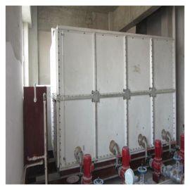 环保水箱玻璃钢屋顶消防水箱