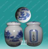 陶瓷茶叶罐,陶瓷罐子定做厂家