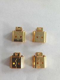 深圳USB接口镀金加工