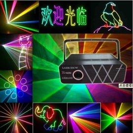 西安激光灯豪彩1w全彩动画激光灯婚庆演出激光秀户外投影激光灯酒吧餐厅广告logo