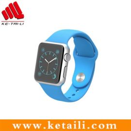 适用于苹果iwatch表带 苹果手表氟橡胶表带 深圳苹果表带定制厂家
