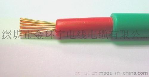 国标电线金环宇单芯护套软电线BVVR 70mm2电线