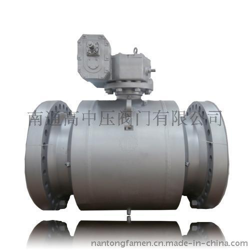 美标大口径全焊接球阀,国标,API6D,全通径,直埋式南通高中压阀门