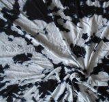 人棉竹節汗布 色織彩條粘膠氨綸 人棉印花布
