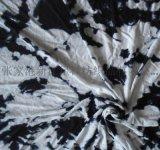 人棉竹节汗布 色织彩条粘胶氨纶 人棉印花布