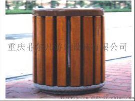重庆贝特厂家直销绿色环保果皮箱垃圾箱