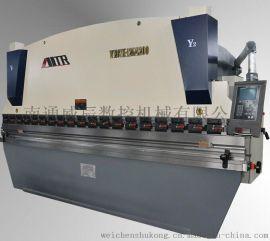 不锈钢门  折弯机   铜门折弯机, WC67K-250T/4000液压数控板料折弯机