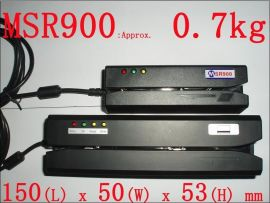 USB三轨小体积迷你磁卡读写器