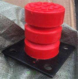 起重机电梯缓冲器 JHQ-C-3聚氨酯缓冲器 80*100聚氨酯缓冲器价格 缓冲行程75mm