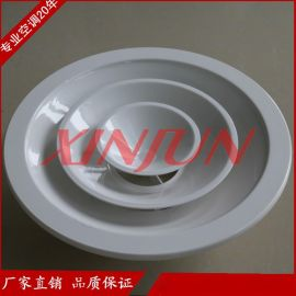铝合金圆形散流器厂家供应 出风口中央空调出风口/排风口