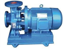供应ISW直联卧式管道泵,水循环泵,清水管道增压泵