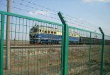厂区围栏 厂区挂刺围栏 防攀爬护栏