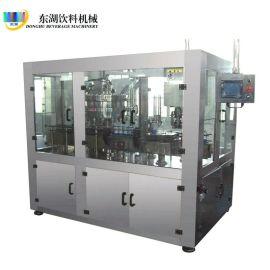 厂家  全自动直线式液体灌装机 纯净水矿泉水灌装生产线设备